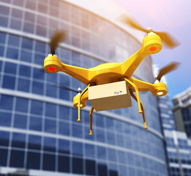 How will drones impact the business environment?