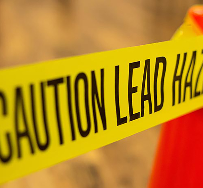 California children affected by lead poisoning