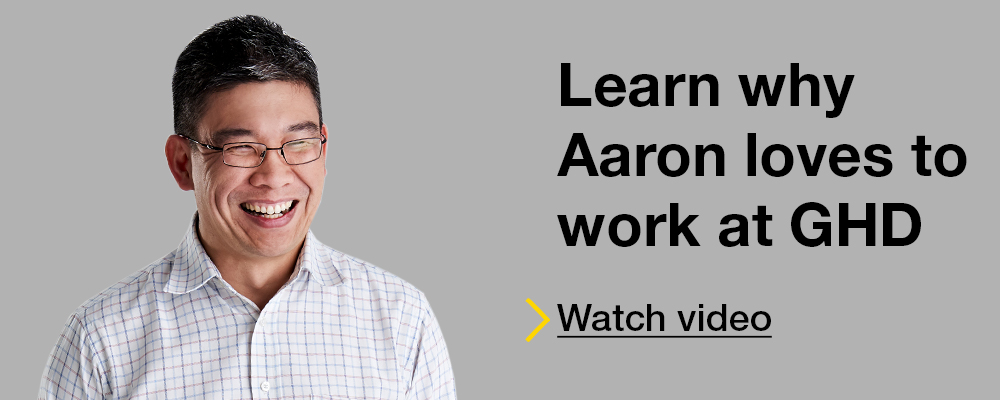 Learn why Aaron loves to work at GHD, click here to watch a video
