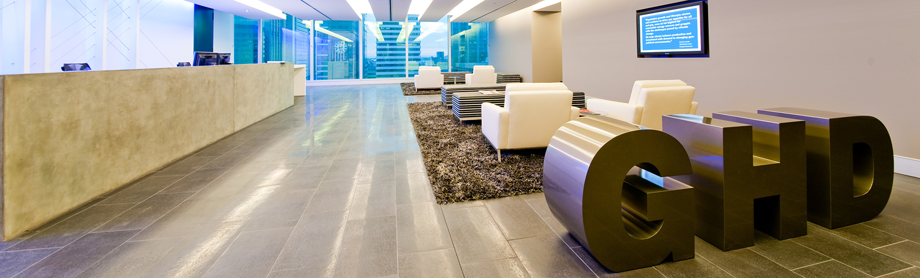 GHD office in Brisbane