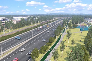 Visualisation of the Coomera Connector