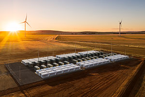 Hornsdale Wind Farm and Battery Storage