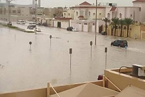Qatar flood study