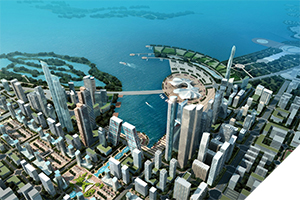 Hefei Lakefront City Masterplan
